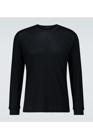 WARDROBE.NYC Long-sleeved cotton T-shirt