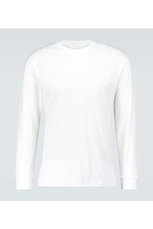 WARDROBE.NYC Men T-shirts - Long-sleeved cotton T-shirt