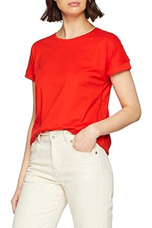 JDY Women's LOUISA S/S FOLD UP TOP JRS NOOS T-Shirt