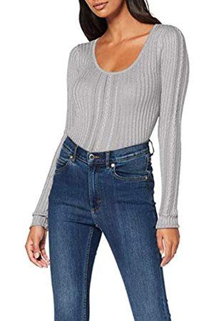 Guess Women's Ls Rn Flora Sweater Jumper