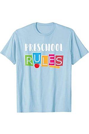 BUBL TEES Preschool Rules Back to School Tee T-Shirt