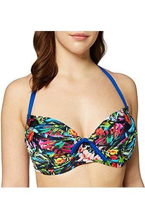 Pour Moi Women's Costa Rica Padded Halter Underwired Top Bikini