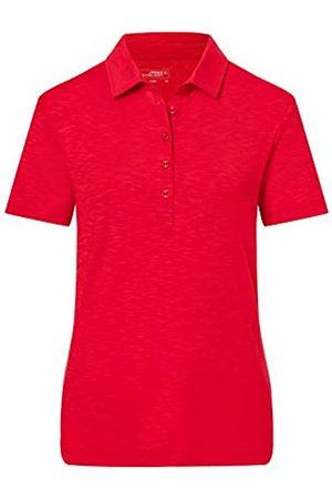 James & Nicholson Women's Ladies' Slub Polo Shirt