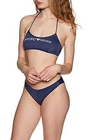 Armani Women's Bralette & Brazilian Brief Bikini Logo Lover