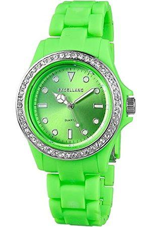 Excellanc Womens Analogue Quartz Watch with Plastic Strap 2.25186E+11
