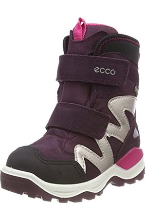 Ecco Unisex Kids' Snow Mountain Boots, Violett ( /Mauve 59996)