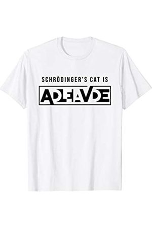 My Shirt Hub Funny Physics Gift SCHRODINGER'S CAT PARADOX IS ALIVE DEAD T-Shirt