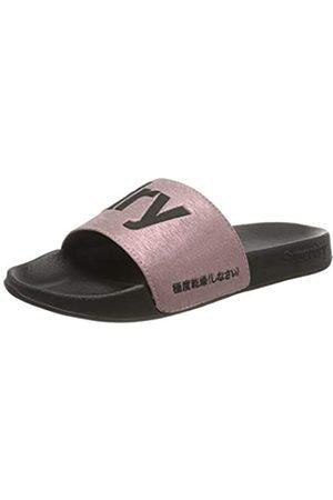 Superdry Women's Pool Slide Beach & Pool Shoes, (Rose Tjk)