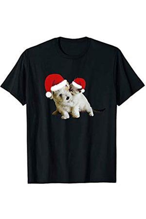 CHEEKY AF Retro Cartoon Ladies T-Shirt Dog Puppy Animal Vintage Novelty