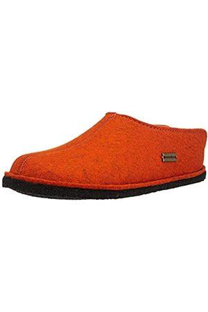 Haflinger Unisex Adults' Flair Smily Open Back Slippers, (Rost 243)