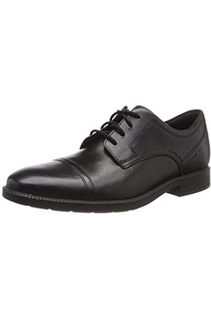 Rockport Men's Dp Modern Cap Toe Lea Oxfords, ( 001)