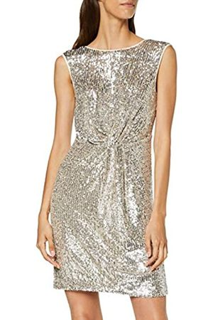 Naf-naf Women's LASHIN R1 Knee-Length Cocktail Sleeveless Party Dress