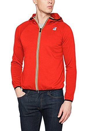 K-Way Men's's Le Vrai 3.0 Victor Unisex Jacket (Rosso K08) Medium