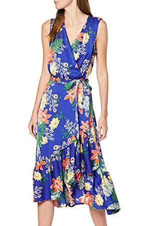 Koton Women's Summer dress With Wrap Around Neckline Party Dress