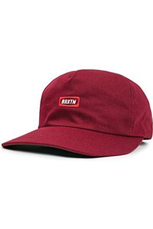 Brixton Men's Rockford Low Profile Adjustable Snapback Hat Newsie Cap
