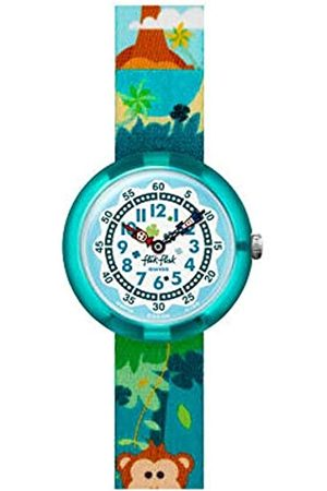 Flik Flak Boys Analogue Quartz Watch with Textile Strap FBNP128