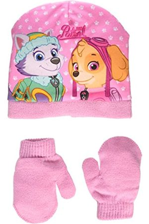 Nickelodeon Baby Girls' Paw Patrol Skye Steps Hat and Gloves