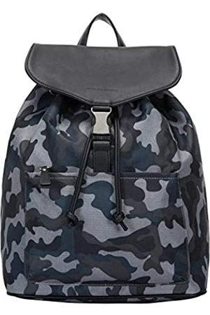 Smith & Canova Mens Front Pocketed Drawstring - Clasped Bkpk Backpack (Camo)
