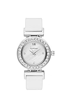 Jean Bellecour Unisex-Adult Analogue Classic Quartz Watch with Leather Strap REDL4