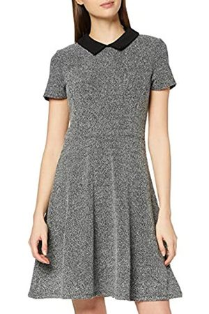 Dorothy Perkins Women's Collar Jacquard Fit and Flare Dress