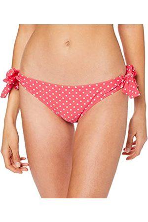 Pour Moi Women's Hot Spots Tie Side Bottom Bikini, Coral