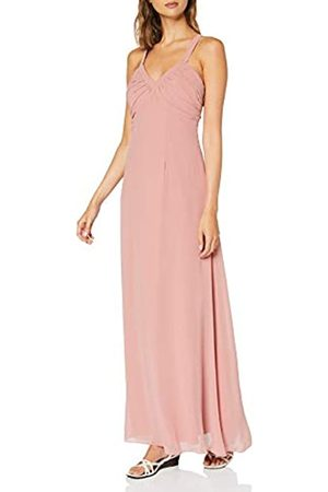 Vila Women's Vitulina Plain S/l Maxi Dress/l Party
