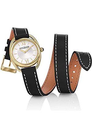 Saint Honore Women's Analogue Quartz Watch with Leather Strap 7215263AIT-BL