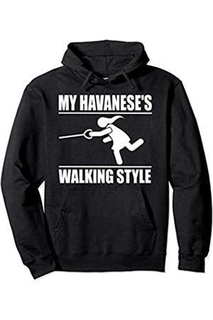 ToonTyphoon Humorous Havanese ( Women ) Walking Style Pullover Hoodie