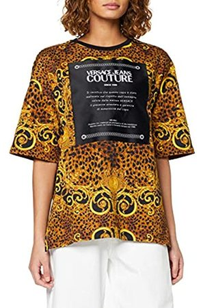 VERSACE Women's T-Shirt Donna Kniited Tank Top