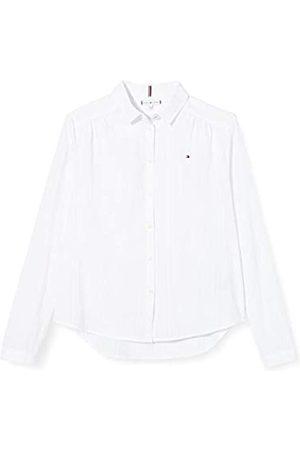 Tommy Hilfiger Girl's Dobby Shirt L/S T