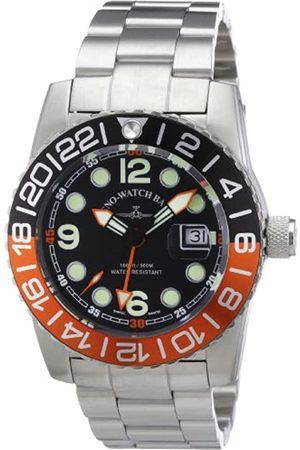 Zeno Men's Quartz Watch Quarz 6349Q-GMT-a1-5M with Metal Strap