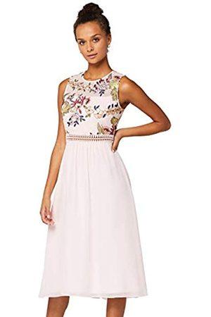 TRUTH & FABLE Amazon Brand - Women's Maxi Chiffon Dress, 18