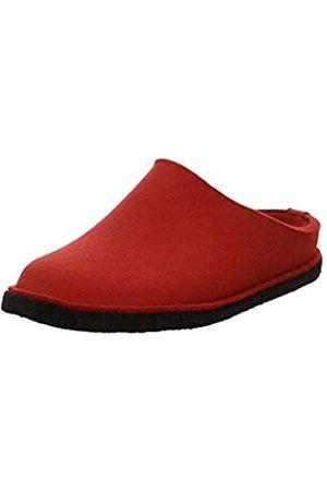 Haflinger Flair Soft, Unisex Adults' Open Back Slippers, (11 Rubin)