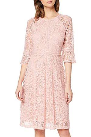 Dorothy Perkins Women's Blush Three Quarter Sleeve Tilly Dress Casual