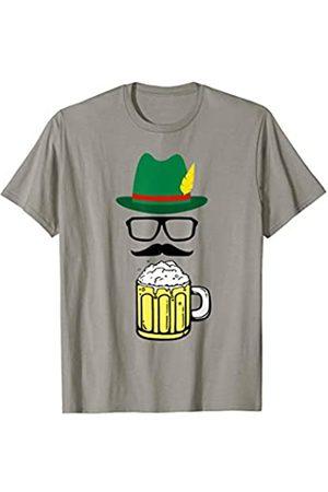 Funny Oktoberfest T-Shirts & German Souvenirs Oktoberfest - Funny German Hat Beer Traditional Bavarian T-Shirt