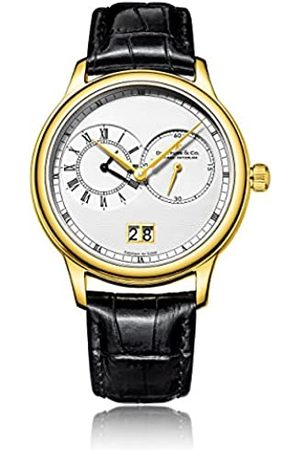 JÉRÔME DREYFUSS Mens Chronograph Quartz Watch with Leather Strap DGS00121/06