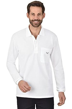 Trigema Men's 621652 Polo Shirt, -Weiß (Weiss 001)