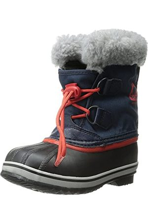 sorel Childrens Yoot Pac Nylon, Unisex Kids Snow Boots, (Collegiate Navy/Sail 464)