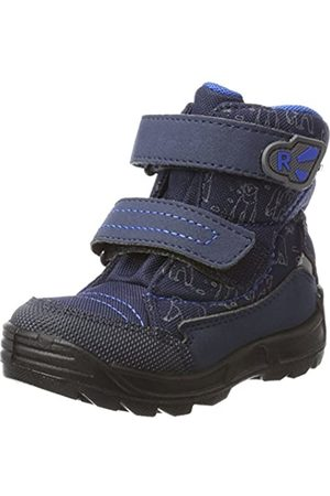 Richter Kinderschuhe Boys'' Freestyle Snow Boots Blue (atlantic/lagoon 7202) 8.5UK Child