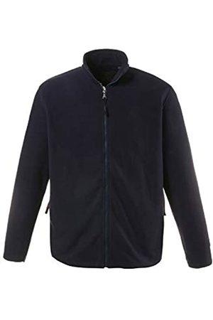 JP 1880 Men's Big & Tall Zip Front Fleece Jacket Navy XXXXX-Large 705552 70-5XL