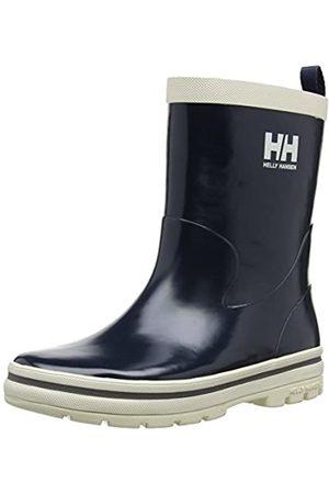 Helly Hansen Junior Midsund Welly, Unisex Kids' Rain Boots, - Blau (597 NAVY/OFF /SILVER REFL)