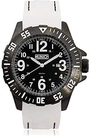 Munich Unisex Adult Analogue Quartz Watch with Rubber Strap MU+122.1C
