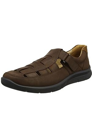 Hotter Men's View Closed-Toe Sandals, (Espresso)