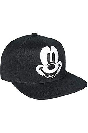 Artesanía Cerdá Boy's Gorra Visera Plana Mickey Cap, (Negro Negro)