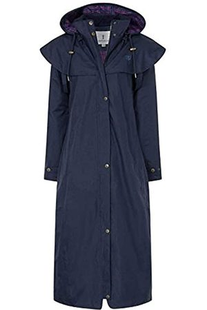 LightHouse Outback Womens Full Length Waterproof Raincoat (Nightshade
