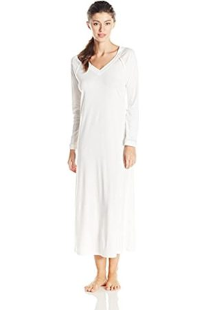Hanro Women's Pure Essence/nightdress 1/1 Arm 130 cm Nightie, ivory (Off 0102)
