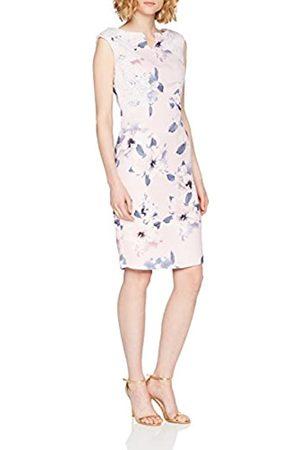 Precis Women's Petite Lace & Print Dress Knee-Length Dress Sleeveless Party Dress