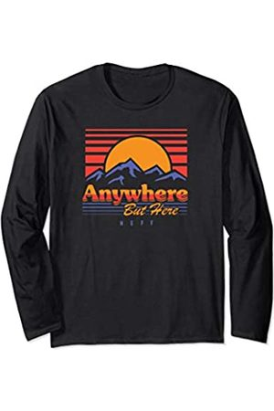 Neff Anywhere But Here Sunset Long Sleeve T-Shirt