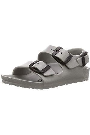 Birkenstock Boys' Milano Sling Back Sandals, (Seal Gray Seal Gray)