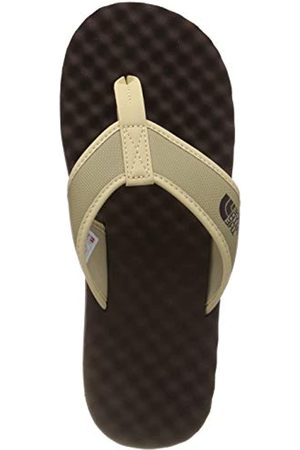 The North Face Men's M Base Camp Flip-Flop Sports Sandals, (Kelp Tan/Demitasse 4nn)